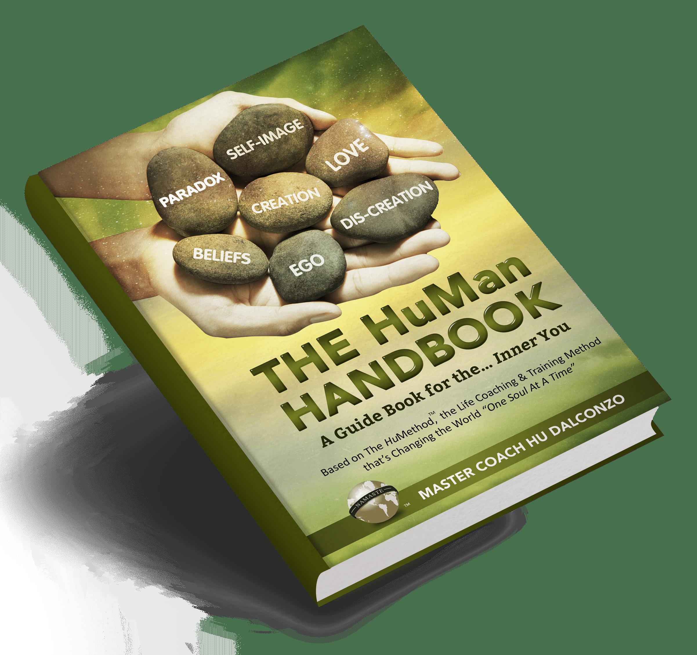 The HuMan Handbook- Book on Angle Mockup